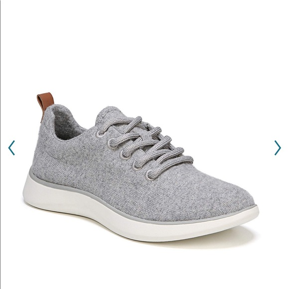 Dr Scholls Freestep Light Grey Wool